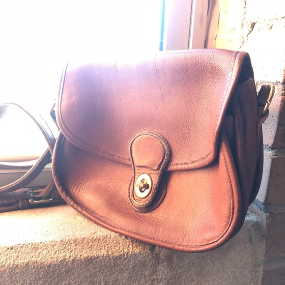 513bf144e0ad Coach Handbags - Vintage Coach saddle bag authentic leather